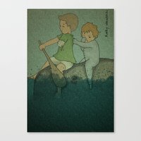 Who Cares? Canvas Print