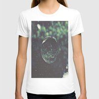 snow T-shirts featuring Snow Globe by Jane Lacey Smith