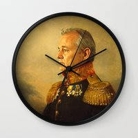 Bill Murray - replaceface Wall Clock