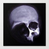 Bones VI Canvas Print
