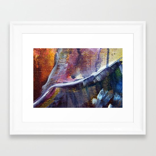 Stormy Sea 2 Framed Art Print