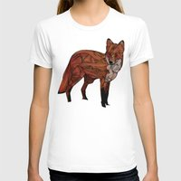snow T-shirts featuring Red Fox by Ben Geiger