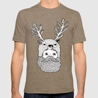 Portrait Of Northern Dee… Mens Fitted Tee Tri-Coffee SMALL