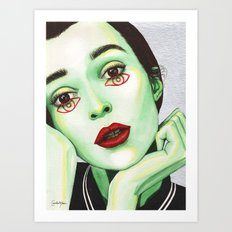 Close Up 2 Art Print