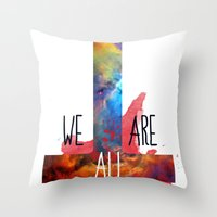 :: BE PREPARED AND DON´… Throw Pillow