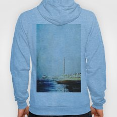 On The Front Textured Fine Art Photograpy Hoody