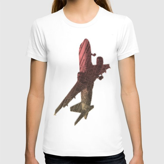 Dad's on that paper flight again T-shirt