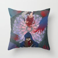 The Golden Age is Over Throw Pillow
