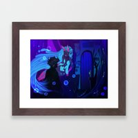 Gil And Nevy Framed Art Print
