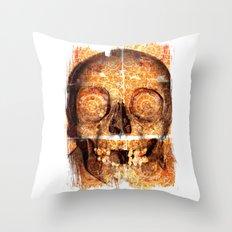 mosaica skully Throw Pillow
