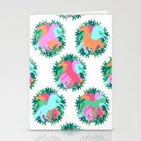 Bouquet of Unicorns Stationery Cards