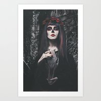 Catrina Day Of The Dead Art Print
