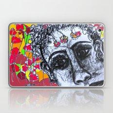 flower girl Laptop & iPad Skin