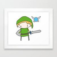 Link - The Legend of Zelda Framed Art Print