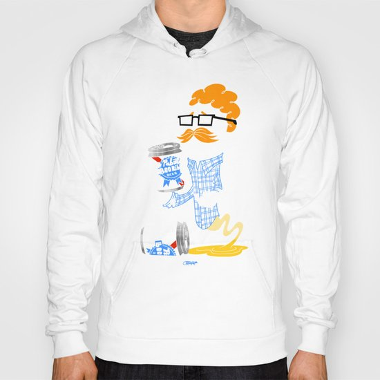 Hipster Ghost Hoody