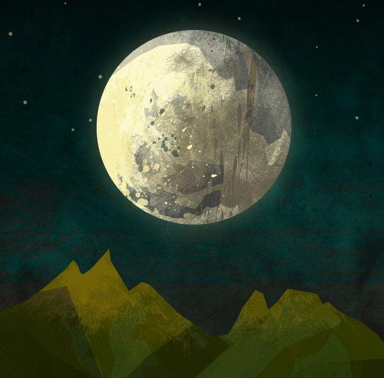 Big Moon Art Print