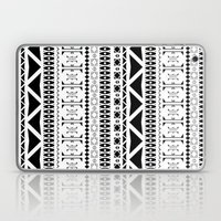 Black & White Pattern Laptop & iPad Skin