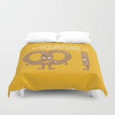 Straight Talk Duvet Cover