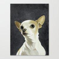 KC The Dog Canvas Print