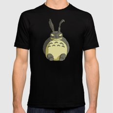 my neighbor frank. Mens Fitted Tee SMALL Black