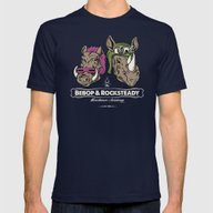 Bebop & Rocksteady Hench… Mens Fitted Tee Navy SMALL