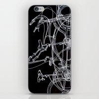 White Bikes iPhone & iPod Skin