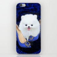 Blue Manolos iPhone & iPod Skin