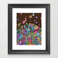 Inner Circle - Fall Framed Art Print