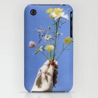 iPhone Cases featuring Flowers by Sophie Pellegrini