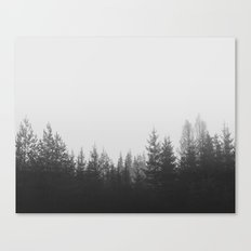 FOREST GREY Canvas Print