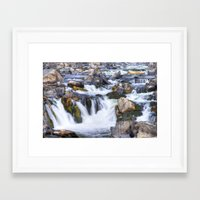 Great Falls Virginia Framed Art Print
