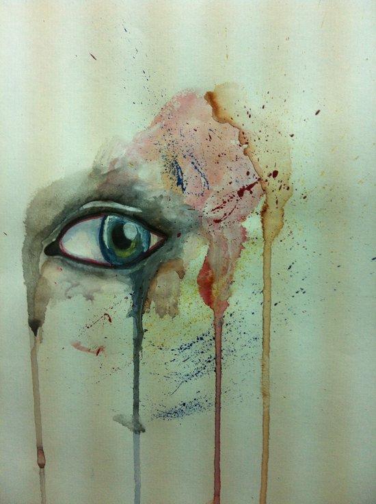 the stare.  Art Print
