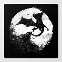 Midnight Desolation Canvas Print