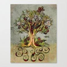 Fall Tree Bloom Canvas Print
