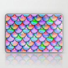 colorful mermaid tail  Laptop & iPad Skin