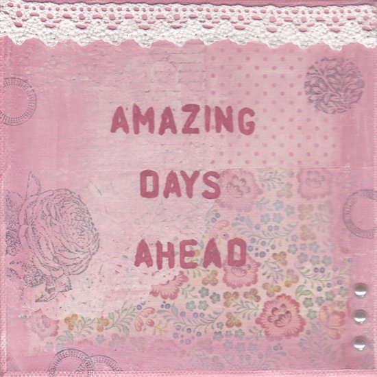 Amazing days ahead Art Print