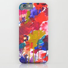 Floral Drip iPhone 6 Slim Case