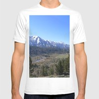Sonora Pass Mens Fitted Tee White SMALL