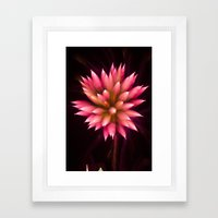 Efflorescence 2 Framed Art Print