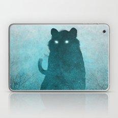 Space Tiger Silhouette Laptop & iPad Skin