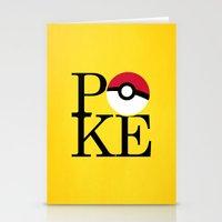 Poke Stationery Cards