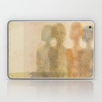 Four Figures Laptop & iPad Skin