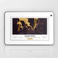 Ironforge Classic Rail Poster Laptop & iPad Skin