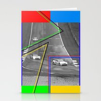 The Racing Line Stationery Cards