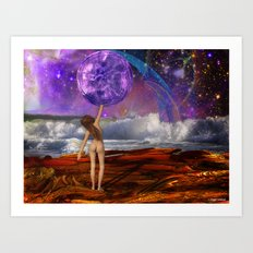 There It Is Art Print