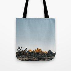 Fading Sun In Joshua Tre… Tote Bag