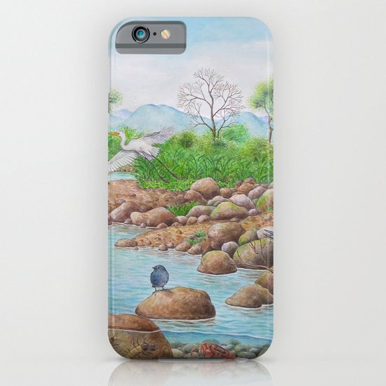 A Day of Forest(7). (the river ecosystem) iPhone & iPod Case