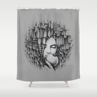 The Big Apple Shower Curtain