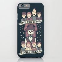 iPhone Cases featuring Down Here by Teo Zirinis