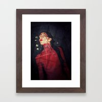 Cemetery In My Mind Framed Art Print